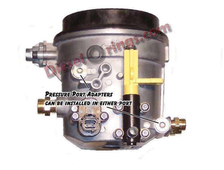 1 8 Quot Npt 90 186 Elbow Pressure Port Adapter